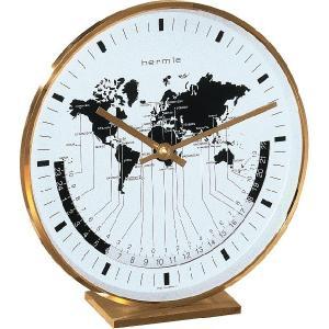 Buffalo1 ヘルムレ(HERMLE)ワールドタイム置時計  22704-002100|clock-shop-cecicela
