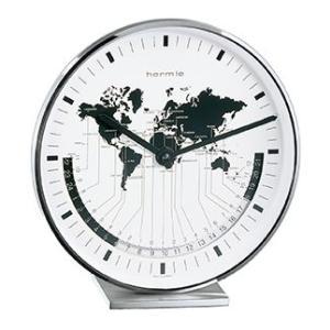 Buffalo2 ヘルムレ(HERMLE)ワールドタイム置時計  22843-002100|clock-shop-cecicela