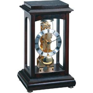 Winchester ウォルナット  ヘルムレ(HERMLE)置き時計   22957-Q30791|clock-shop-cecicela