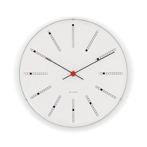 アルネ・ヤコブセン 掛け時計ARNE JACOBSEN Wall Clock Bankers 160mm 43620|clock-shop-cecicela