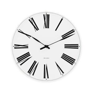 アルネ・ヤコブセン掛け時計 ARNE JACOBSEN Wall Clock ローマンクロック  160mm 43622|clock-shop-cecicela