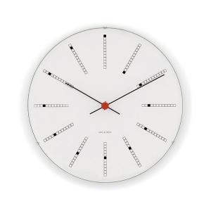 アルネ・ヤコブセン掛け時計 ARNE JACOBSEN Wall Clock Bankers 290mm 43640|clock-shop-cecicela