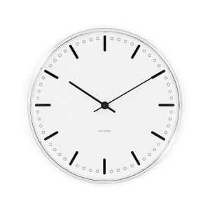 アルネ・ヤコブセン掛け時計 ARNE JACOBSEN Wall Clock CityHall 290mm 43641|clock-shop-cecicela