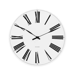 アルネ・ヤコブセン掛け時計 ARNE JACOBSEN Wall Clock ローマンクロック  290mm 43642|clock-shop-cecicela