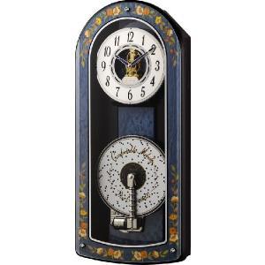 インタルシアクロック象嵌細工が魅力です! プライムオルガニートA 4MH867RH04 リズム時計|clock-shop-cecicela