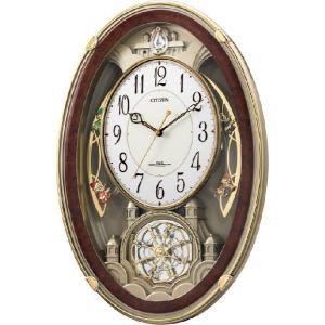 アミュージングクロック電波時計 スモールワールドクウィーダムDX 4MN484RH23 シチズン時計