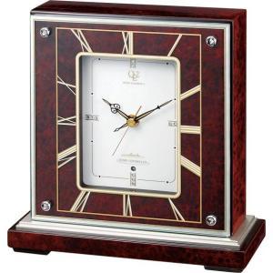 報時付き置き時計 ハイクオリティーコレクション RHG-S64 リズム時計 4RN425HG06|clock-shop-cecicela