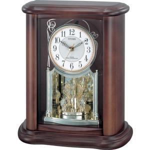 置き時計 パルロワイエR668N 4RY668-N06 シチズン時計|clock-shop-cecicela