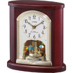 置き時計 パルロワイエR681SR 4RY681SR06 リズム時計 シチズン時計|clock-shop-cecicela