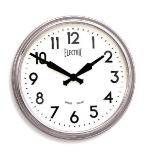 NEW GATEニューゲート掛け時計  50's Electric クローム GWL44PA|clock-shop-cecicela