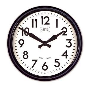 NEW GATEニューゲート掛け時計  50's Electric ブラック GWL44K|clock-shop-cecicela