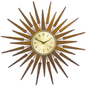 NEW GATEニューゲート掛け時計  SUNBURSTブラウン   |clock-shop-cecicela