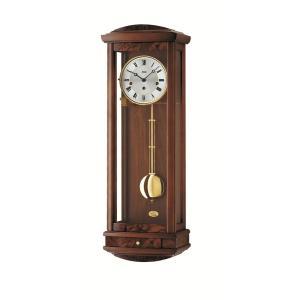 ウォルナット仕上げが美しい! AMSアームス機械式振り子時計 2607-1|clock-shop-cecicela