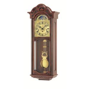 ウォルナット仕上げが美しい! AMSアームス振り子時計 機械式 2649-1 AMS掛け時計|clock-shop-cecicela