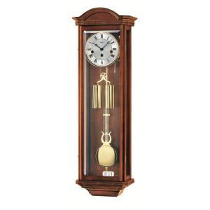 ウォルナット仕上げが美しい! AMSアームス機械式振り子時計 2672-1|clock-shop-cecicela