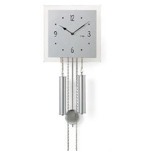 スタイリッシュな機械式が魅力! アームスAMS振り子時計 機械式 354  AMS掛け時計|clock-shop-cecicela