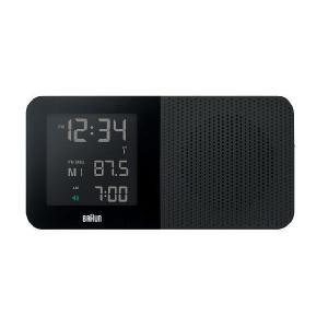 【日本正規代理店品】 ブラウンBRAUNラジオ グローバル電波アラームクロック  BNC010BK-SRC clock-shop-cecicela