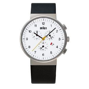 ブラウンBRAUN腕時計 クロノグラフ  BNH0035WHBKG 【日本正規代理店品】 |clock-shop-cecicela