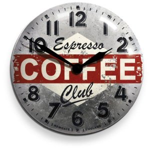 NEW GATEニューゲート掛け時計 COFFEE ADVERTISING Wall Clock COFCON50|clock-shop-cecicela