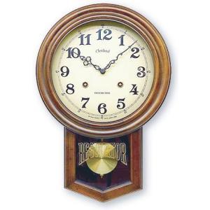 さんてる アンティーク調振り子時計 電波スイープムーブメント DQL623 サンテル 日本製 clock-shop-cecicela