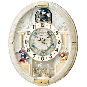 からくり時計  ディズニータイム FW574W  セイコー SEIKO電波時計 メロディー時計|clock-shop-cecicela