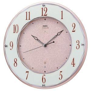 セイコーエンブレム掛け時計 SEIKO電波時計 HS524A clock-shop-cecicela