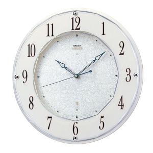 セイコーエンブレム掛け時計 SEIKO電波時計 HS524W clock-shop-cecicela