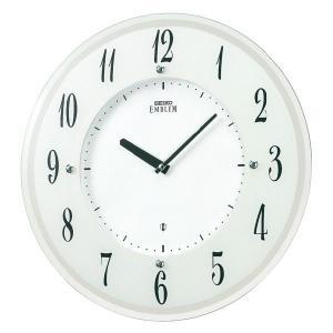 セイコーエンブレム掛け時計 SEIKO電波時計 HS533W clock-shop-cecicela