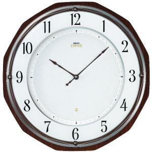 セイコーエンブレム掛け時計 SEIKO電波時計 HS536B clock-shop-cecicela