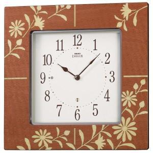 セイコーエンブレム掛け時計 SEIKO電波時計 HS538B clock-shop-cecicela