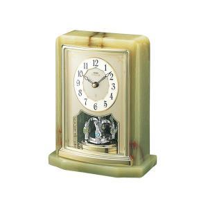 セイコー置時計エンブレム SEIKO置き時計 HW465G clock-shop-cecicela