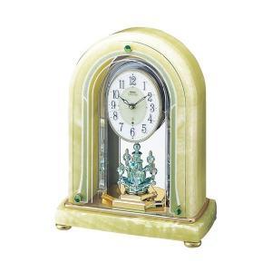 セイコー置時計エンブレム SEIKO電波置き時計 HW519M clock-shop-cecicela