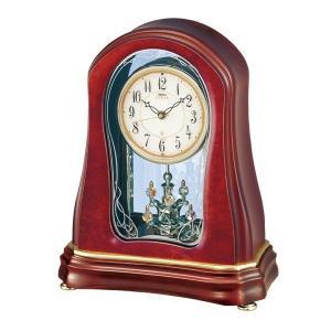 セイコーメロディ置時計エンブレム  SEIKO電波置き時計 HW527H clock-shop-cecicela