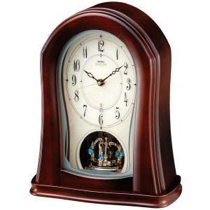 セイコー置時計エンブレム  SEIKO電波置き時計 HW545Z clock-shop-cecicela