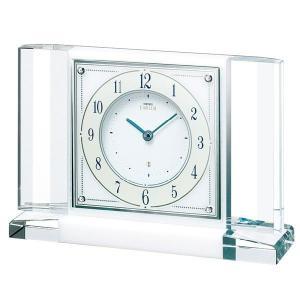 セイコー置時計エンブレム SEIKO置き時計 HW564W clock-shop-cecicela