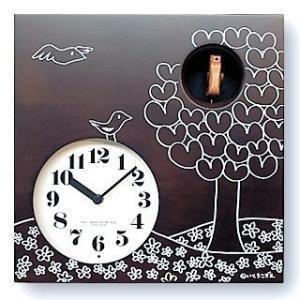 鳩時計 さんてる 日本製 はと時計 IK656BR カッコークロック 国産 手作り カッコークロック 国産 手作り clock-shop-cecicela