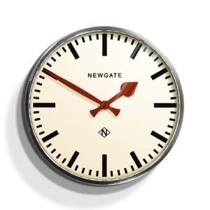 レトロなunderground station clock NEW GATEニューゲート掛け時計 Putney Wall Clock クロームPUT390CH|clock-shop-cecicela