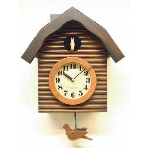 鳩時計 さんてる 日本製 振り子はと時計 QL650BR  国産 手作り clock-shop-cecicela