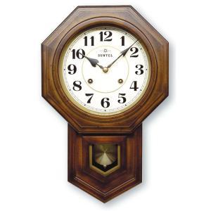 格調高く時の訪れを告げます! ボンボン報時付き だるま振り子時計 QL688A サンテル 日本製 clock-shop-cecicela