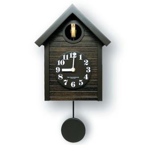 鳩時計レトロ さんてる 日本製 振り子はと時計 QL694AN  国産 手作り clock-shop-cecicela
