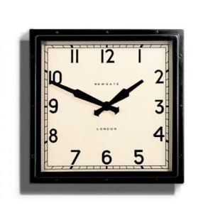 NEW GATEニューゲート掛け時計  QUAD WALL CLOCK ブラック QUAD42K|clock-shop-cecicela