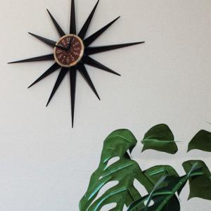 掛け時計 壁掛け アグリア インターフォルム interform インテリア サンバースト おしゃれ 壁掛け時計