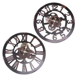 掛け時計 壁掛け ファクトリー FACTORY インテリア おしゃれ アンティーク スチール レトロ ビンテージ 壁掛け時計 当店おすすめ
