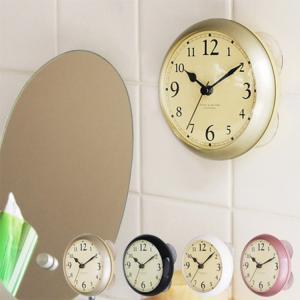 バスクロック ディシェル シャワークロック DECIEL shower clock 置き時計 置時計 防水 お風呂 シンプル おしゃれ