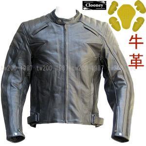 カウハイド レザージャケット(牛革)J01 本革...の商品画像
