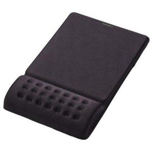 エレコム マウスパッド リストレスト一体型 疲労低減 'COMFY' ソフト(ブラック) MP-09...