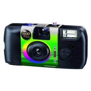 FUJIFILM レンズ付フイルム フジカラー 写ルンです 1600 Hi-Speed (高感度・高...