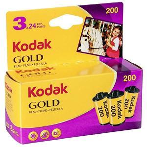 Kodak カラーネガフィルム GOLD 200 35mm 24枚撮 3本セット 6033971  ...