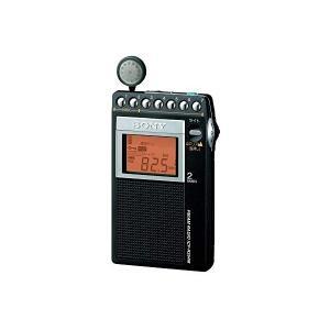 ソニー SONY PLLシンセサイザーラジオ FM/AM/ワイドFM対応 片耳巻取り 名刺サイズ I...