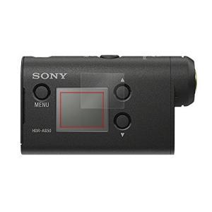 光沢液晶保護フィルム 2枚セット SONY アクションカム FDR-X3000 / HDR-AS30...